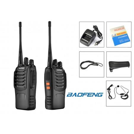 BF-888S Radio Walkie-Talkie