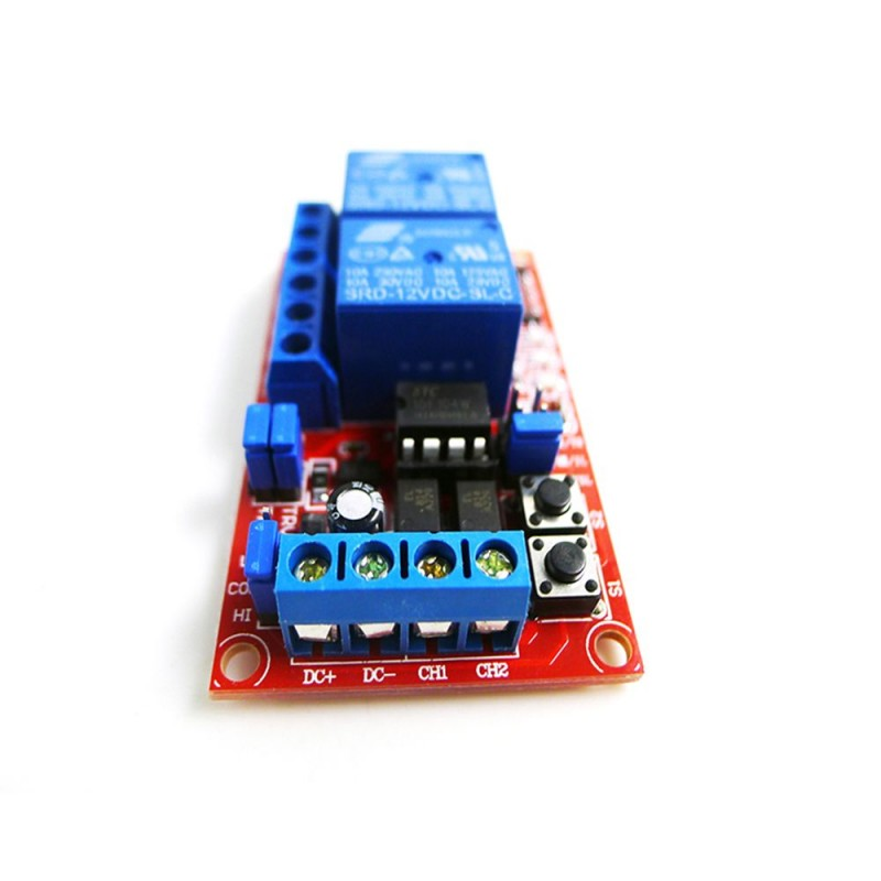 Modul cu 2 relee 12V self-lock OKY3012-5 10107049