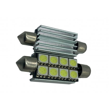 SJ 5050 8 39 C LED AUTO PLAFONIERA 5050 8 SMD 39MM CANBUS