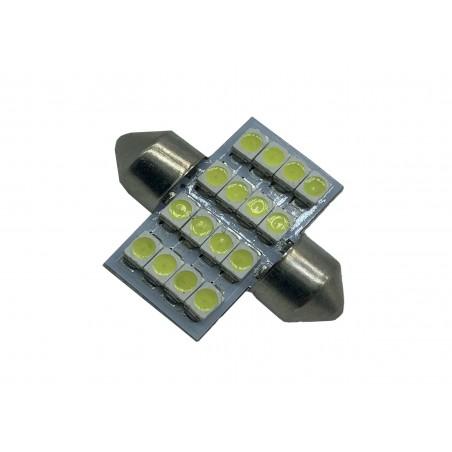 SJ-1210 31mm LED SMD ALB 16SMD