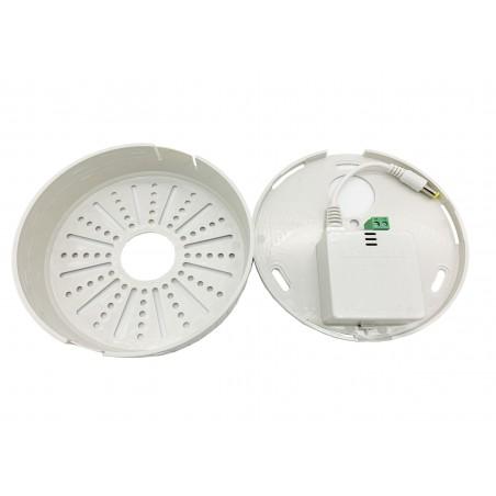 Sursa de alimentare CCTV in cutie de plastic pentru camere dome 12v 2a