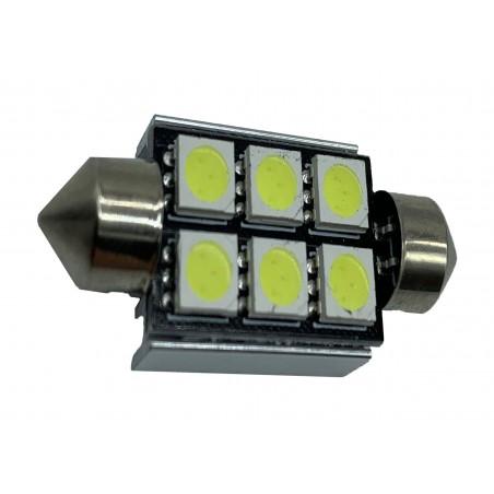 SJ-5050 6MD 36mm- LED auto 12 V canbus