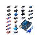 Kit 24 senzori in cutie de plastic. Arduino UNO R3 cu cablu inclus OKY1025-1 10107094