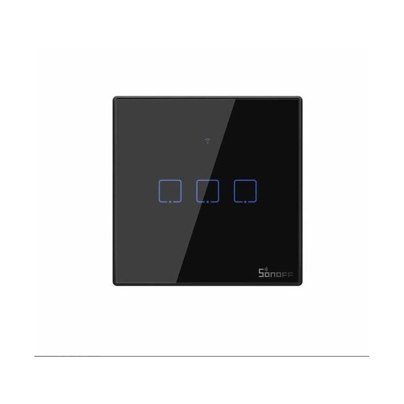 Intrerupator Wifi 3ch touch Sonoff IoT T3EU3C TX IM190314020