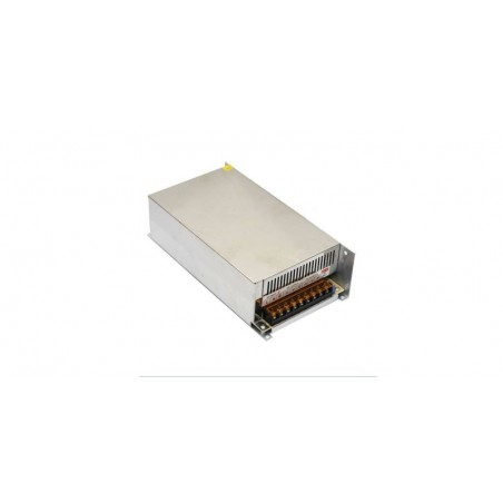 Sursa de alimentare industriala in cutie de tabla 24V 25A-ventilator S-600W-24