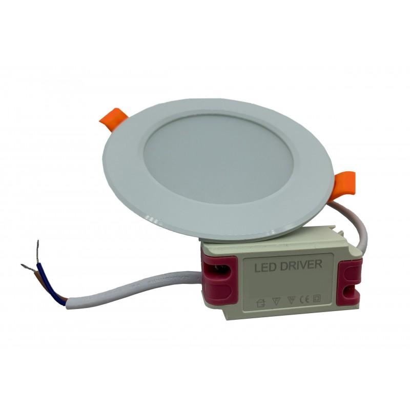 Aplica led alb rece 18w 220vac prindere magnetica patrat 145mm