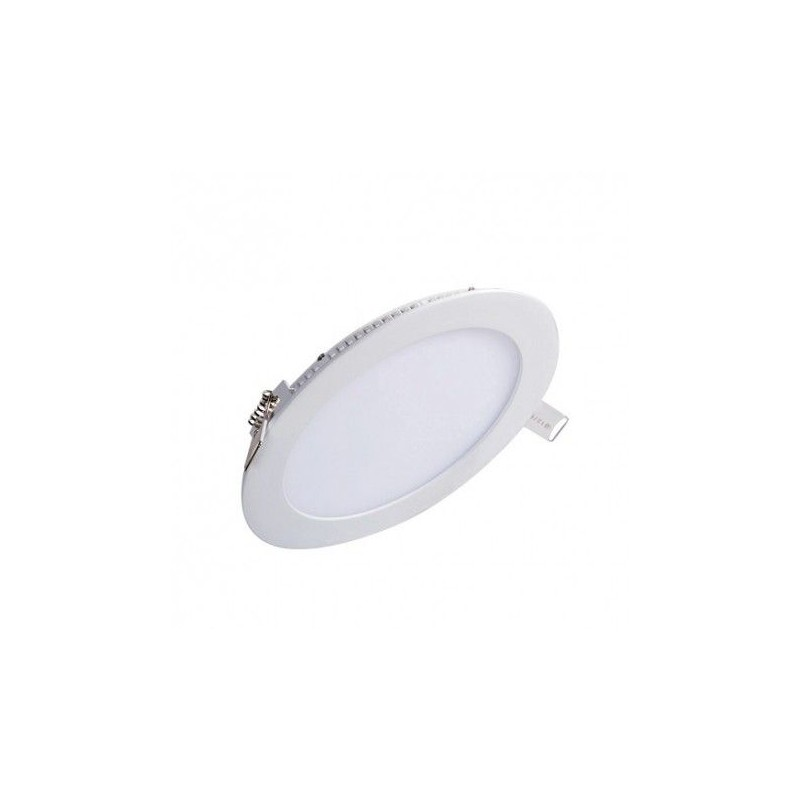 PLAFONIERA LED INCASTRABILA JH-MBD-005 ROTUNDA 12W ALB CALD