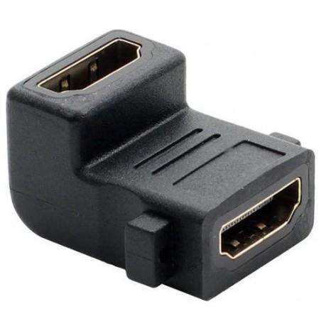 Adaptor HDMI mama - HDMI mama 90°