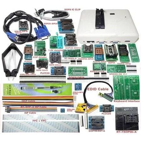 RT809H EMMC-NAND FLASH Programator + 31 ADAPTOARE