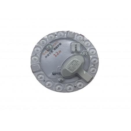 Aplica led alb rece 12w 220vac prindere magnetica rotunda  130mm