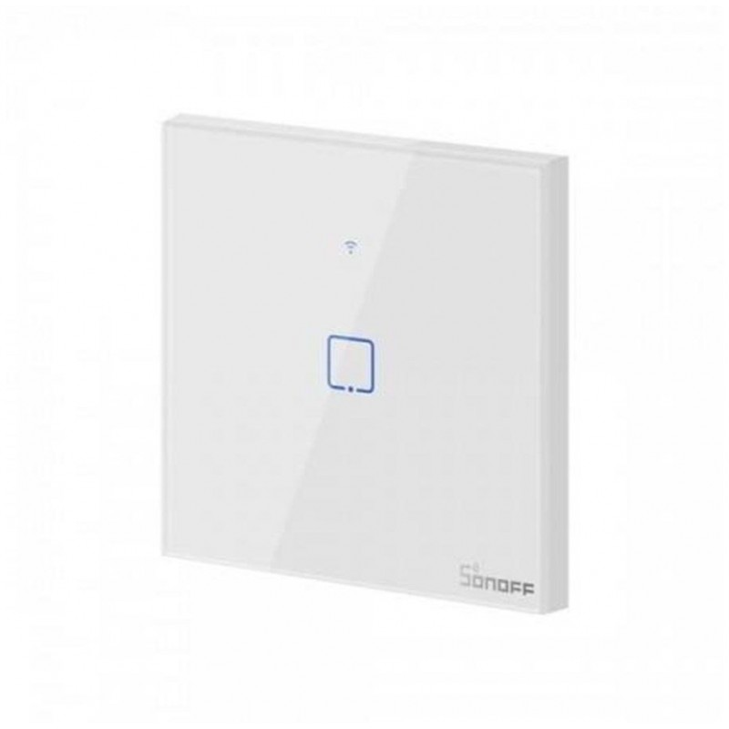 Intrerupator Wifi 1ch touch Sonoff IoT T3EU1C TX IM190314018 NEGRU