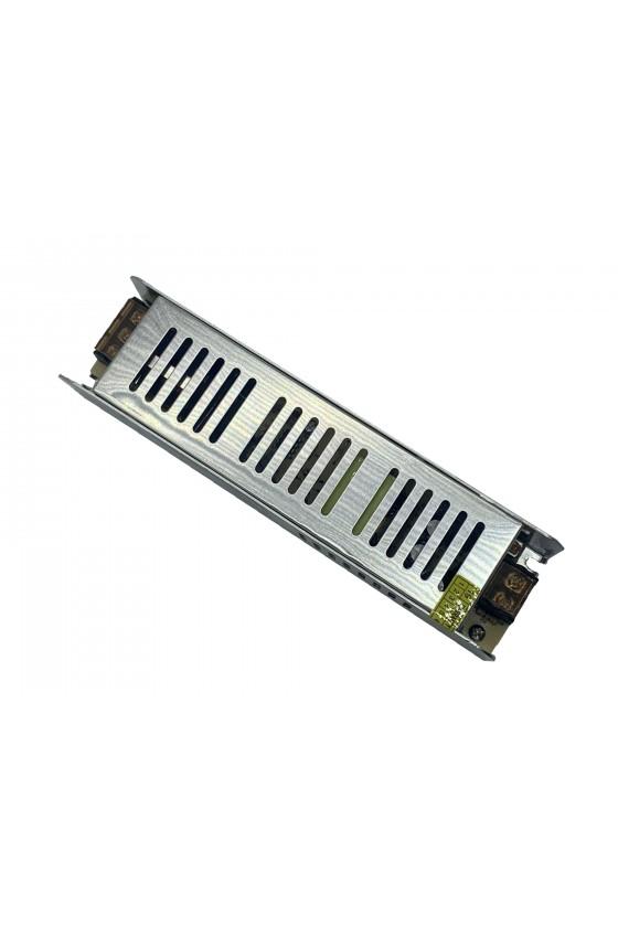 Sursa de alimentare industriala in cutie de tabla perforata 12V 10A - JC-120W