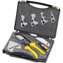 Trusă profesională pentru decupare profile din aluminiu, JX-C8025