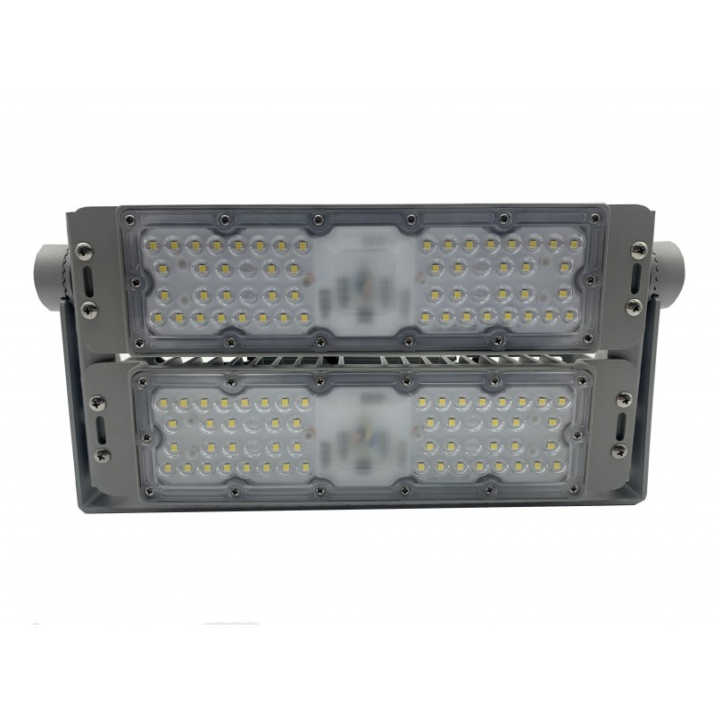 Proiector cu LED, 100 W, 6000 K, 9000 lm, 220 V AC, alb rece, Serie Saturn