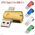 Adaptor OTG microUSB - USB C