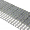 2835 Hard Strip Cold - Banda aluminiu cu led 2835, alb rece, 144 LED/m un rând, 12 V, 1.21 A, 1 m