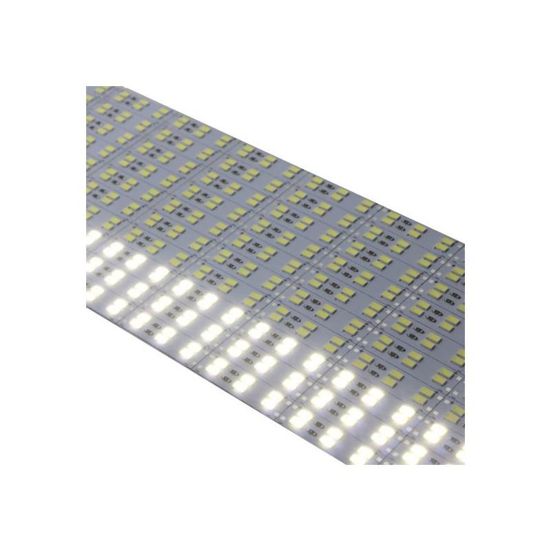 2835 Hard Strip Cold - Banda aluminiu cu led 2835, alb rece