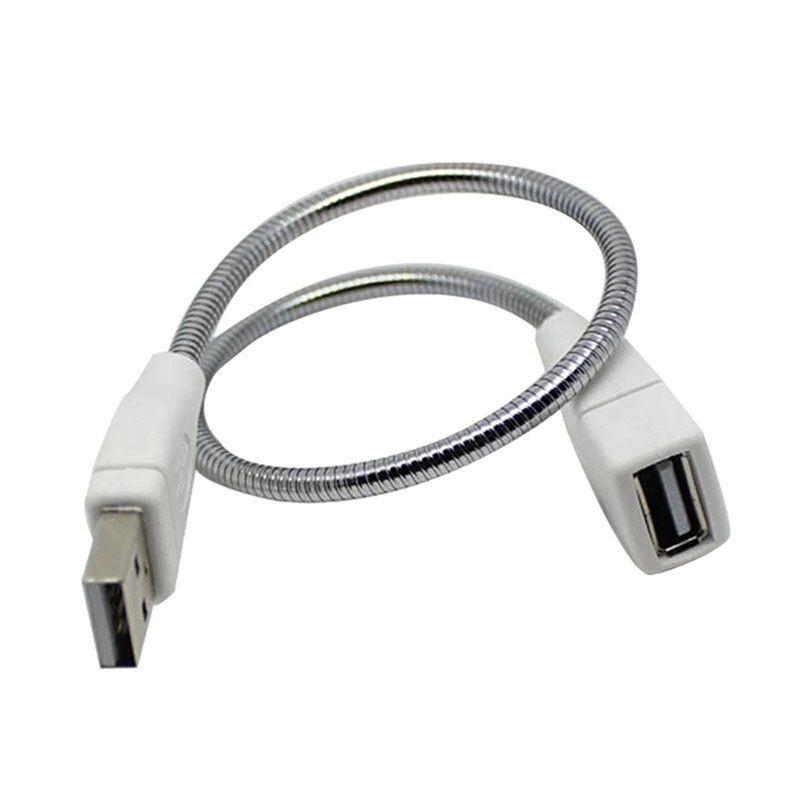 Cablu USB cu înfășurare metalică