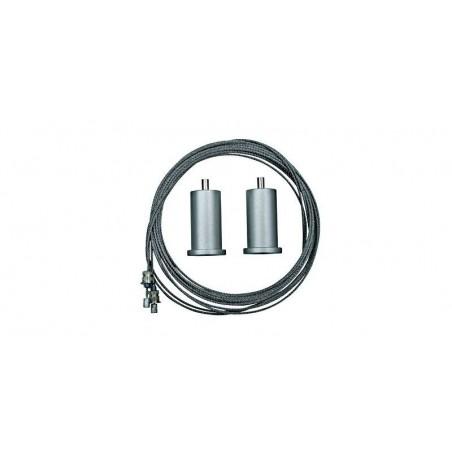 Kit cablu 80 cm, pentru suspendare panou LED