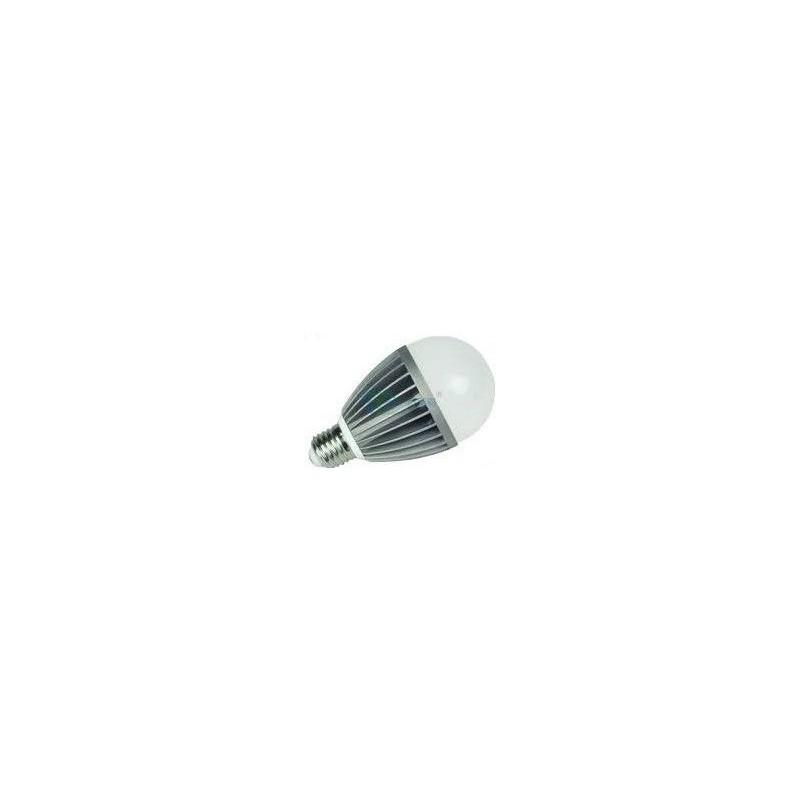 E27-5W-COOL - BEC CU LED 5W ALB RECE (AL)