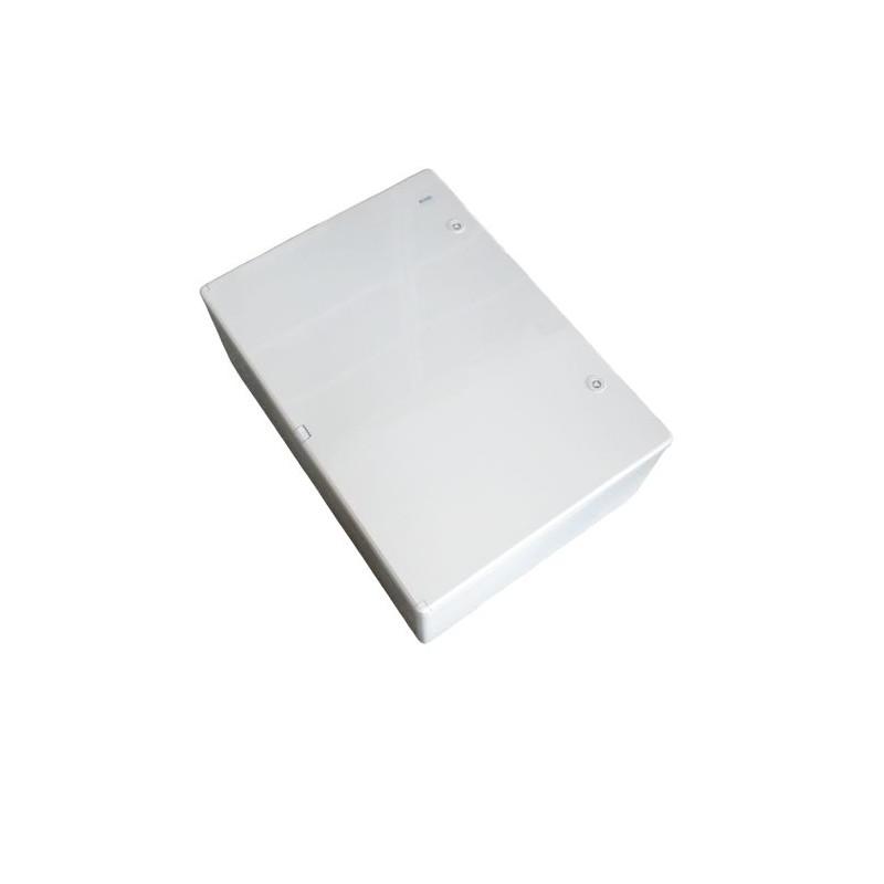 Tablou electric din ABS alb cu contra placa din tabla galvanizata 50X70X25
