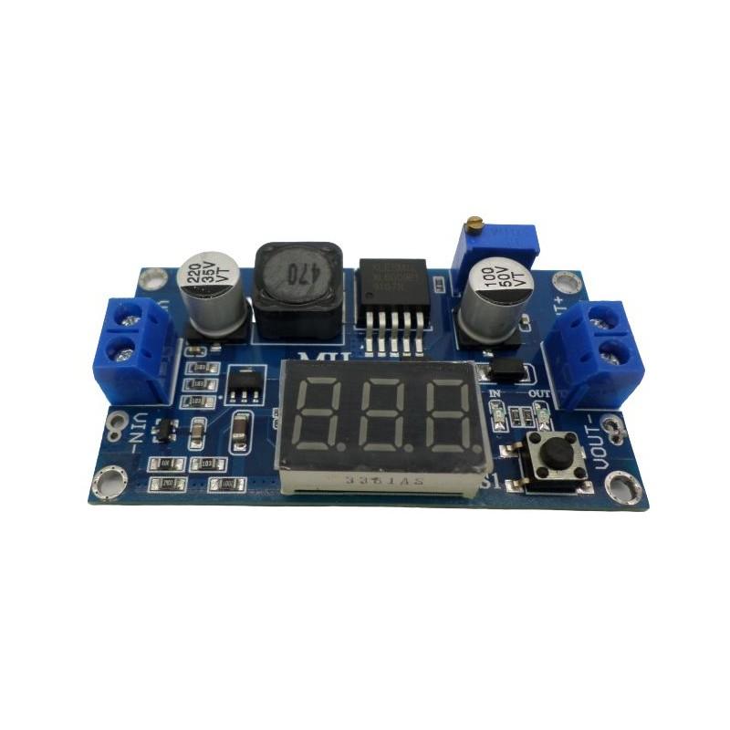 Modul Convertor DC-DC ridicator de tensiune cu xl6009 5 - 32v la 5 - 52 v
