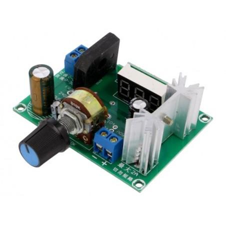 Regulator de tensiune step down LM317  0-22VAC/ 0-30VDC  la 1.25-28VDC max. 2A OKY3463-1 10106739