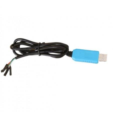 Convertor USB-TTL cu cablu 1m, albastru PL2303TA 10105649