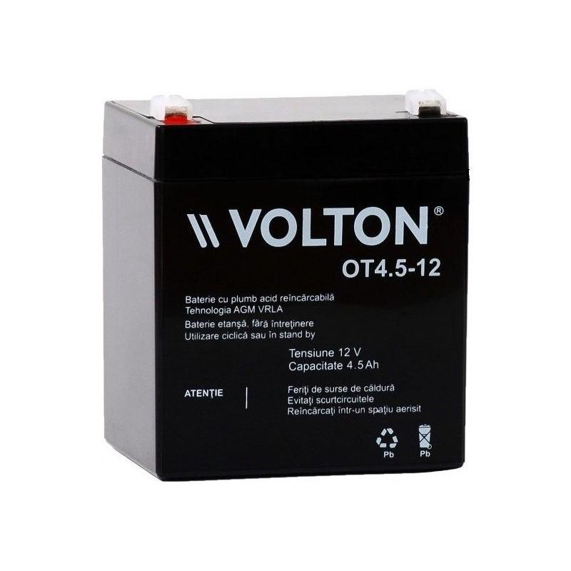 Acumulator plumb acid 12V 4.5A Volton