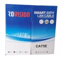 Cablu UTP aluminiu cuprat CAT5E CCA 0,5mm