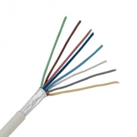 Cablu sisteme de alarma pentru antiefractie cu 8 fire 8x0.22