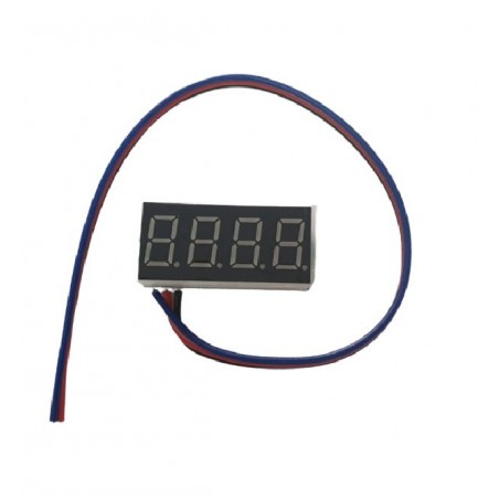 Voltmetru digital de panou DC 0V-100V, afisaj Albastru, 4 digiti
