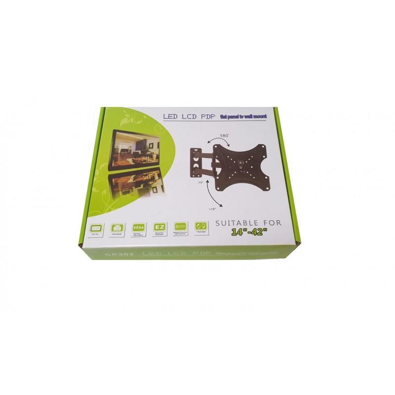 "Suport LCD 14-42"" VESA 75/100/200 max.35kg unghi vert 30gr oriz 180 lung brat 43cm EasyFast S27"