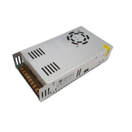 Sursa de alimentare industriala in cutie de tabla perforata cu ventilator12V 30A - S-360W