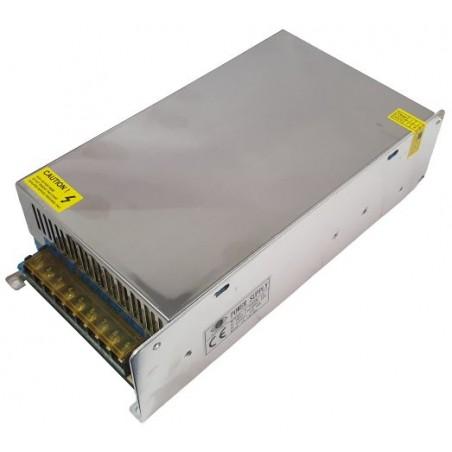 Sursa de alimentare industriala in cutie de tabla perforata 12V 50A  S-600W-12