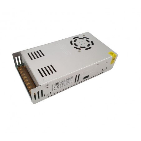 Sursa de alimentare industriala / in comutatie 24V 20A in cutie de tabla perforata S-480W-24