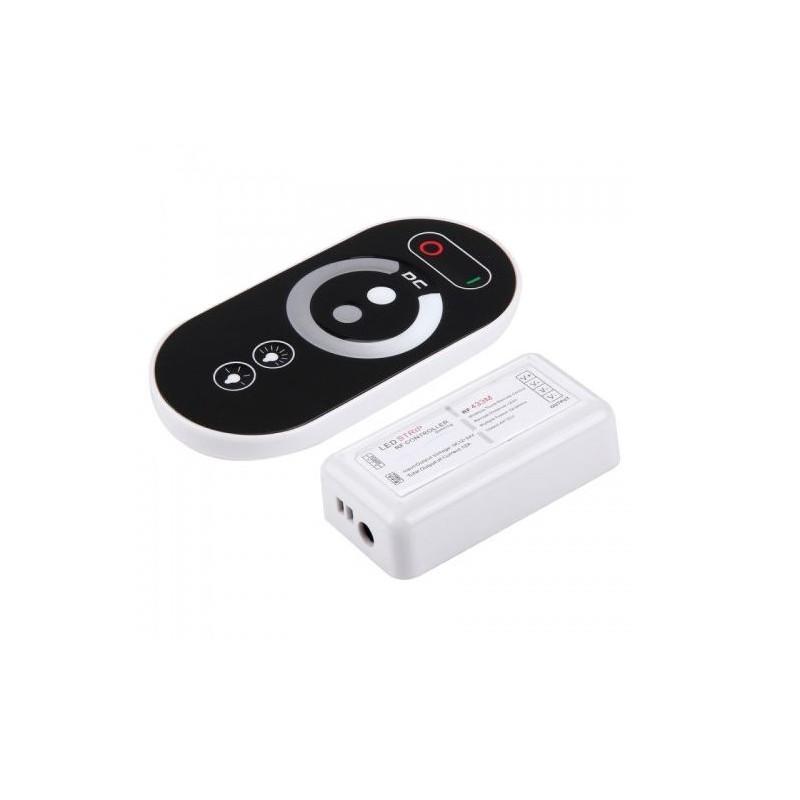 Dimmer led monocrom cu telecomanda touch cu 6 butoane - plastic 12-24V max 12A 10107481