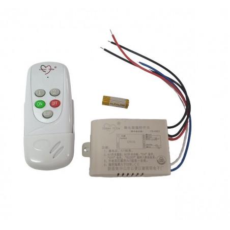 Kit lustra cu telecomanda RF si modul cu doua canale pentru iluminat (ON-OFF) (Y-0802)