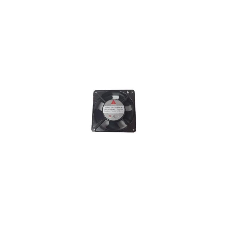 Ventilator 220VAC 0.14A 120x120x38mm metal 2700rpm max. rulment