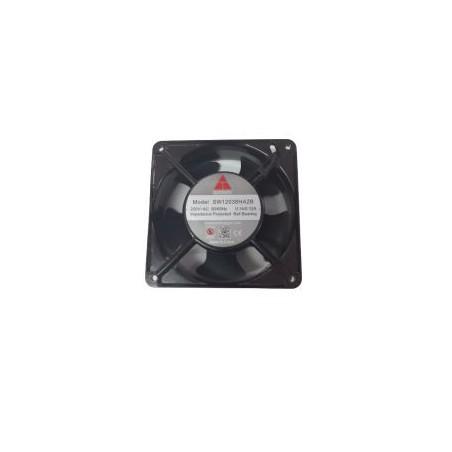 Ventilator 220VAC 0.14A 120x120x38mm metal 2700rpm max. rulment 102mc/h