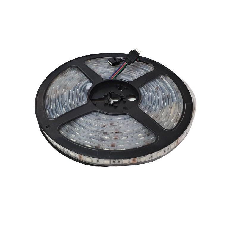 Banda LED submersibila, SMD 5050 RGB, 60 LED/m, IP68