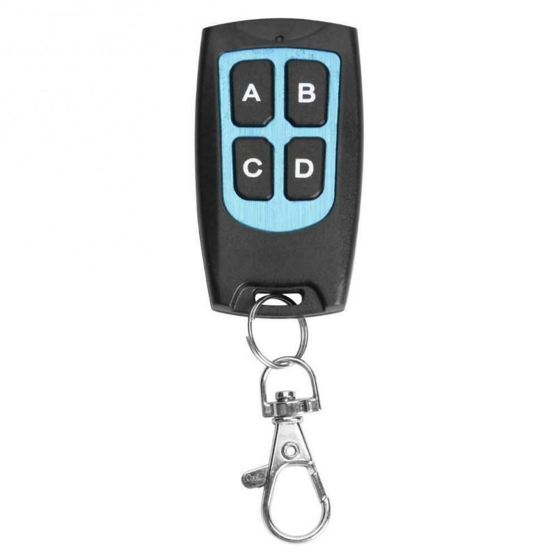 Telecomanda universala programabila 4 butoane ABCD AK-KB079A 433MHz