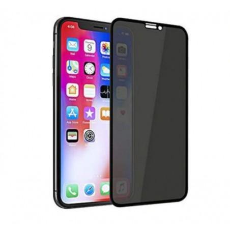 Folie IPHONE XS MAX , X MAX, 11 PRO MAX black full Privacy