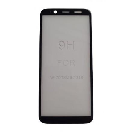 Folie sticla Samsung A6 full glue negru