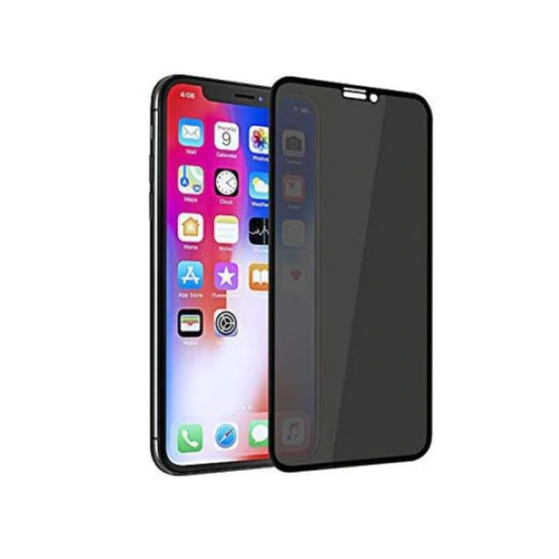 Folie de sticla Privacy Iphone X/XS  Black