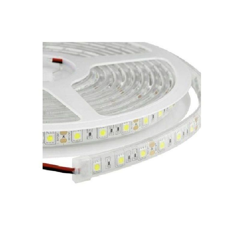 Banda LED submersibila, SMD 5050 Alb Rece, 60 LED/m, IP68((Waterproof)