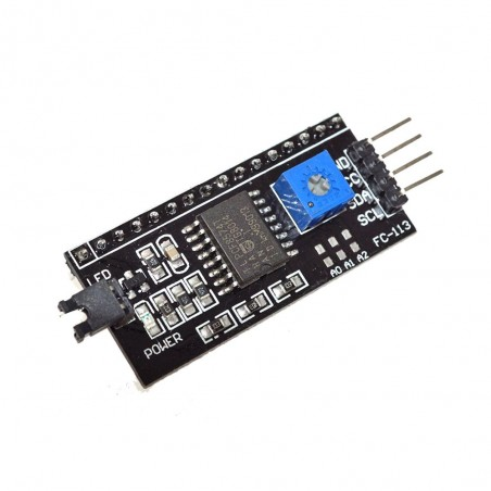 Modul de conversie IIC/I2C pentru interfata LCD1602/LCD2004 OKY3437