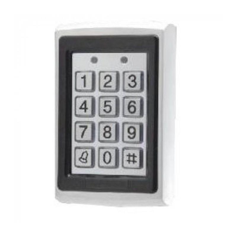Tastatura control acces AS4 cod/tag 12v IP20 interior metal