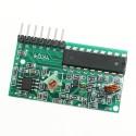 OKY3387 Modul receptor cu telecomanda 4 canale 10107419
