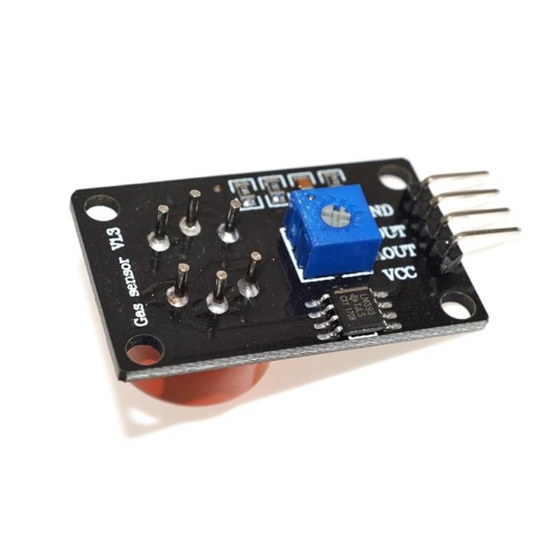 OKY3325 Senzor MQ-3 Alcool, GPL, fum iesire digitala si analogica 10107412